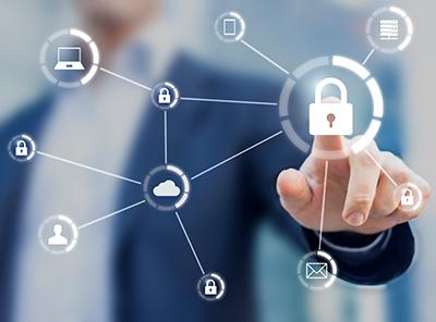 情報セキュリティとして物理的脅威から守ります。