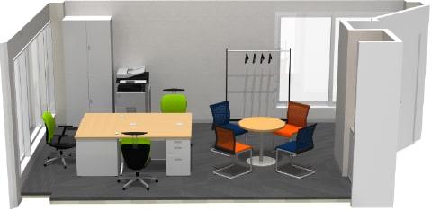 東京都港区のNo.1オフィスデザインのオフィス移転 シックで上品なイメージになります。