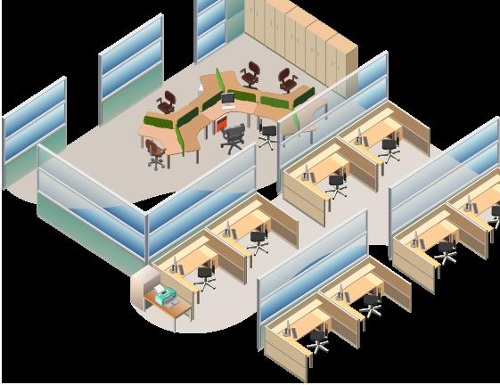 東京都港区のオフィス家具コーディネート 3Dレイアウト 体験キャンペーン