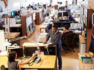 東京都港区のオフィスレイアウトデザイン 様々なオフィスデザインをご提案