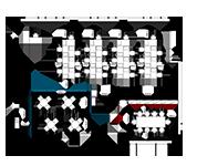 東京オフィスレイアウト図