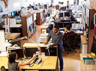 東京都港区のオフィス移転 ご移転に関わる業務をフォローします。