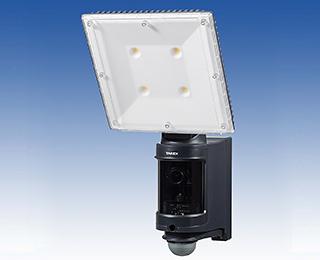 センサーLEDライト付きAHDカラーカメラ(屋内・屋外用)