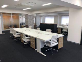 東京都千代田区 オフィス工事 オフィス家具