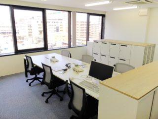 神奈川県横浜市  オフィス家具 設置工事