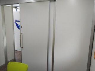 東京都江戸川区 オフィス工事 パーテーション工事 オフィス家具