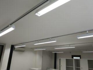 東京都江戸川区 オフィス工事 照明工事