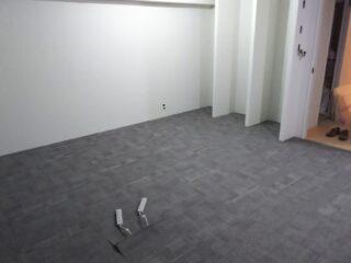 東京都渋谷区 OAフロア タイルカーペット工事