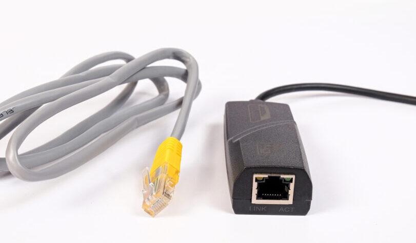 スマホでも有線LANで接続できるの?